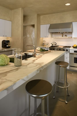 Interior Kitchen Design with Creative Storage Solutions