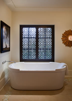 Interior Bathroom Design by Interior Architect Janice Viekman